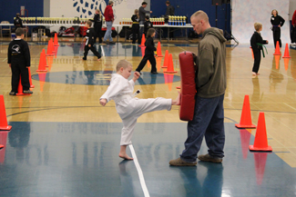 taught by black belt instructors, working with kids, safety awareness program, mission, email, phone